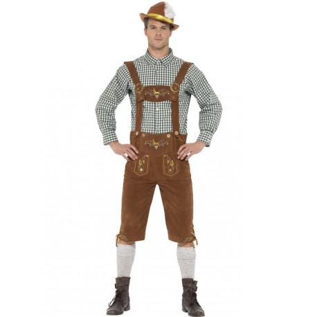 Disfraz de Cervecero Marron Oktoberfest