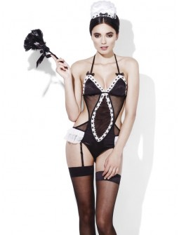 Disfraz de Criada Erótico con Trikini