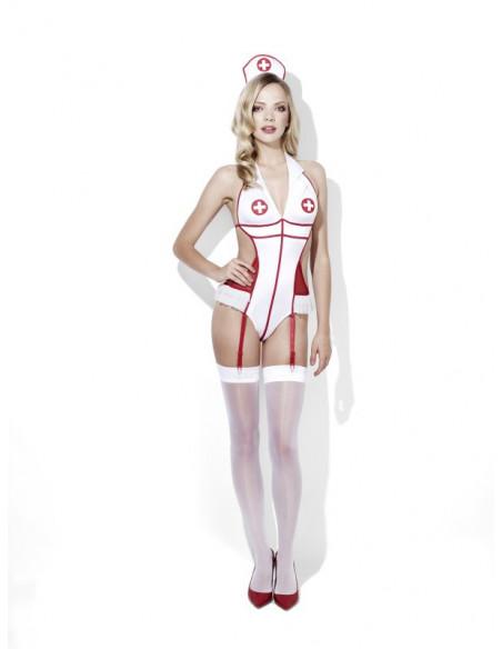 Disfraz de Enfermera Erótico con Trikini