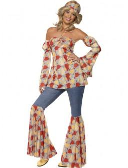 Disfraz de Hippie Hippie Vintage de los 60