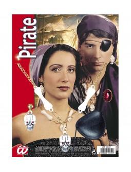 Kit Pirata con Joyas y parche