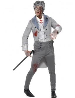 Disfraz de Zombie elegante para hombre