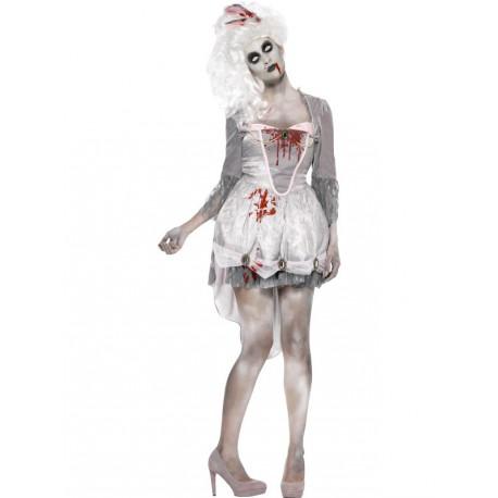 Disfraz de Zombie elegante para mujer
