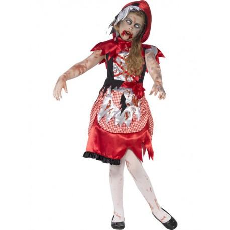 Disfraz de Caperucita Roja Zombie