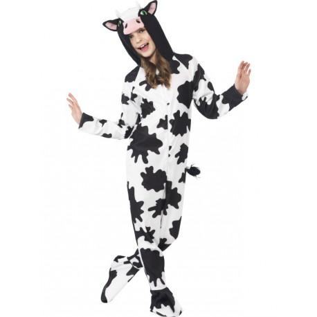 Disfraz de Vaca Unisex para niños