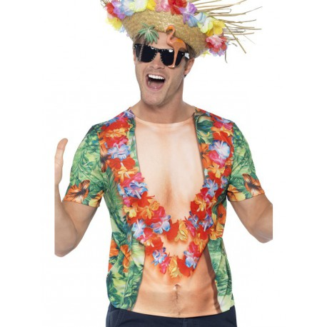 Camiseta Hawaiana para Hombre