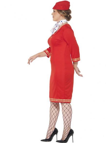 Disfraz de Azafata en talla grande