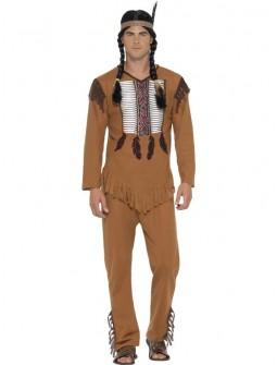 Disfraz de Indio barato para hombre