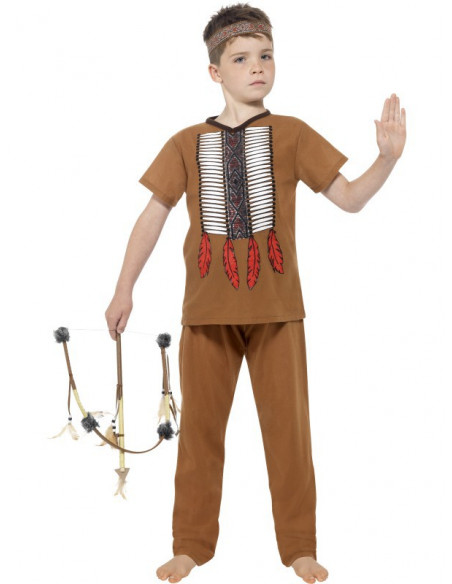 Disfraz de Indio barato para niño