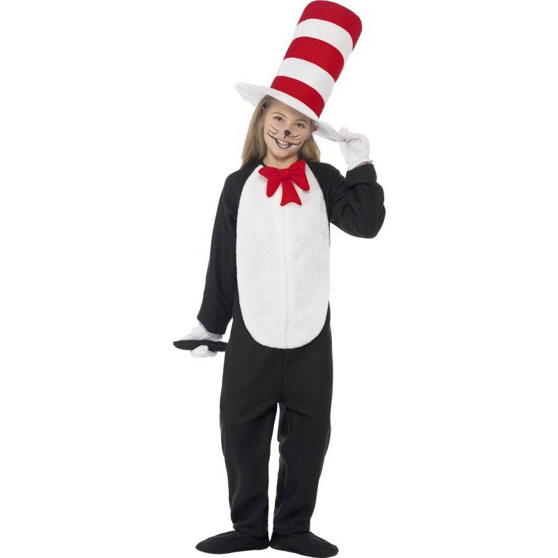 Disfraz de gato en el sombrero para ni os comprar online - Disfraces de gatos para ninos ...