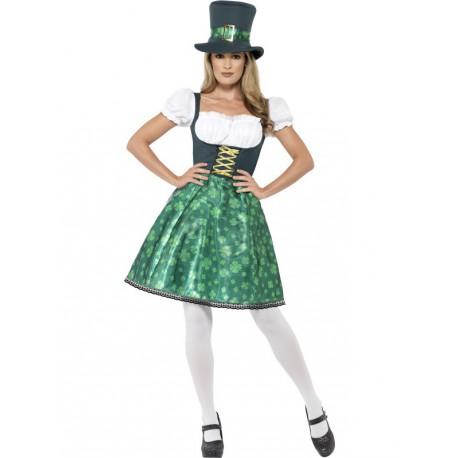 Disfraz de Saint Patrick's para Mujer
