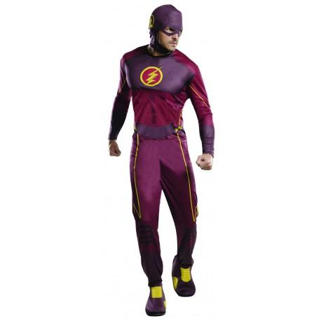 Disfraz de Flash para Adulto