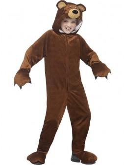Disfraz de Oso Marron Unisex para niños