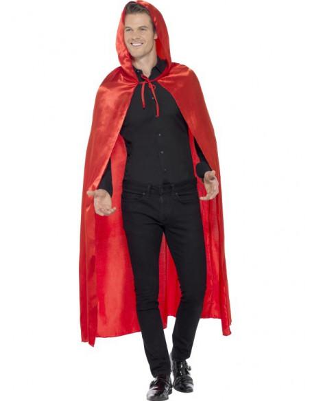 Capa Roja con Capucha