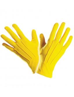 Guantes Amarillos Cortos