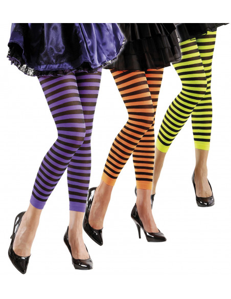Leggings de Rayas de Colores