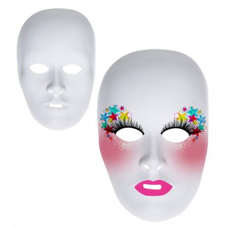 Máscara Blanca para Pintar