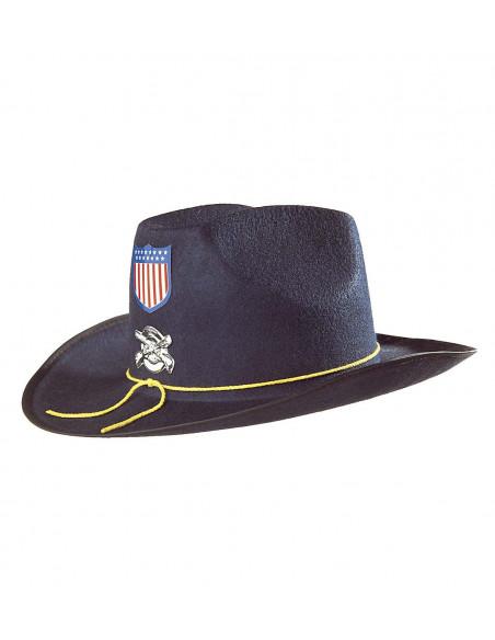 Sombrero de General Nordista Azul