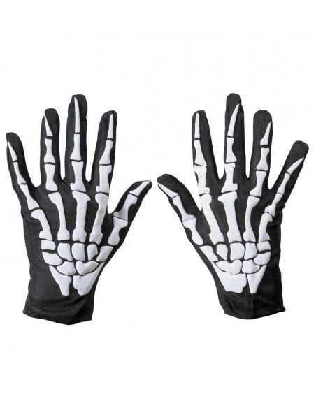 Guantes de Esqueleto con Huesos
