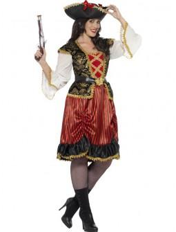 Disfraz de Capitana Pirata Talla Grande