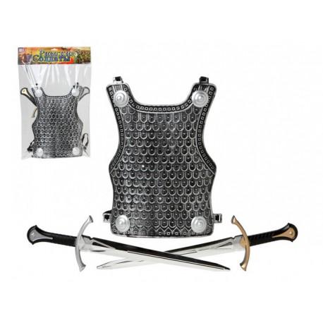 Armadura y espadas