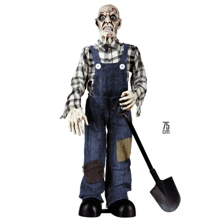 Figura Enterrador Zombie 75 cm