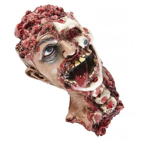 Cabeza con cuello para decoración Halloween