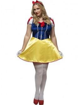Disfraz de Blancanieves Talla Grande