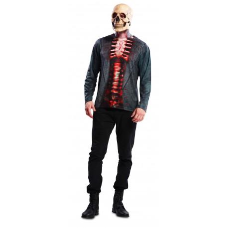 Camiseta de Esqueleto para Hombre