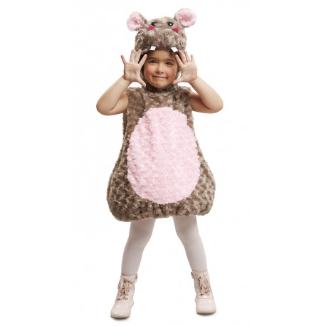 Disfraz de Hipopótamo de Peluche