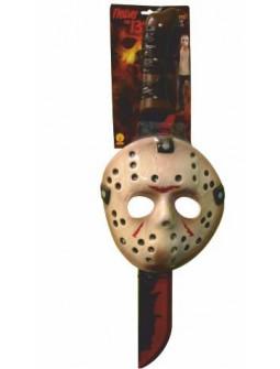 Set Máscara y Machete de Jason