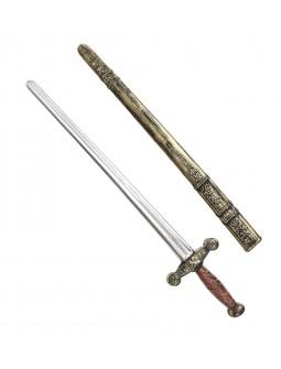 Espada Medieval Envejecida con funda