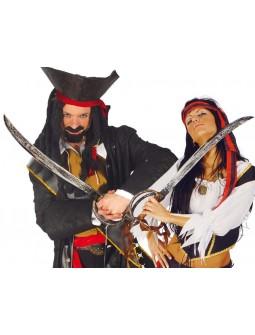 Espada Pirata envejecida