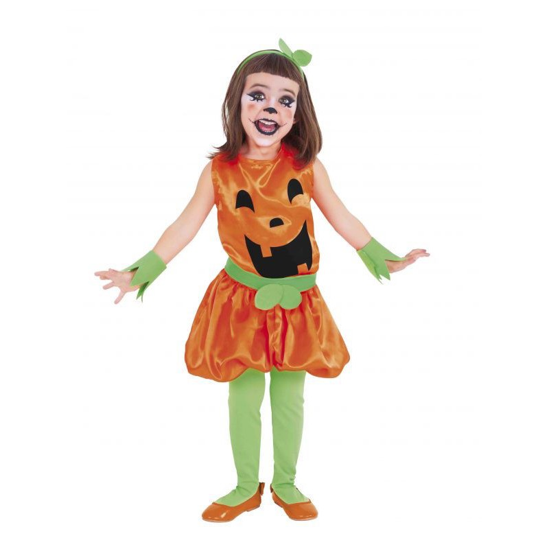 Disfraz de calabaza de halloween para ni a comprar - Disfraces halloween calabaza para ninos ...