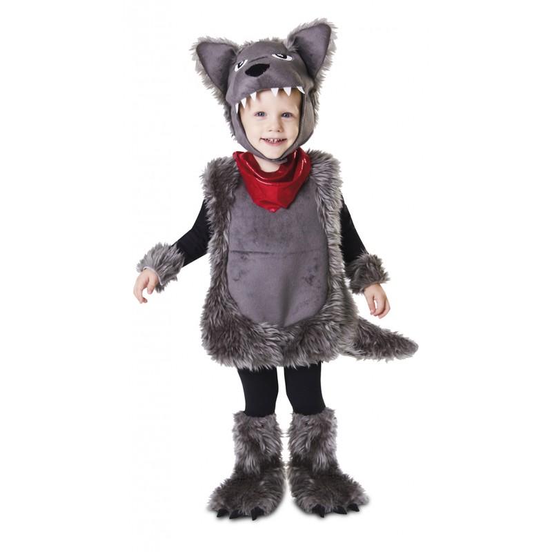 Disfraz de lobo feroz infantil comprar online env o 24h for Disfraz de lobo feroz