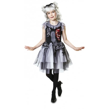 Disfraz de Damisela Zombie para Niña