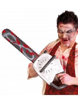 Motosierra de Plástico con Sangre
