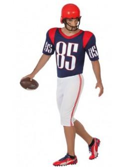 Disfraz de jugador de Futbol Americano