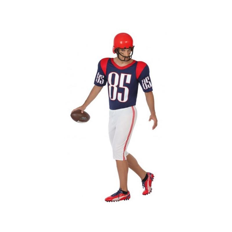Disfraz de Jugador de Fútbol Americano para Hombre 3fd21f6c98f