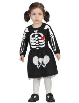 Disfraz de Esqueleto de 1 a 2 años