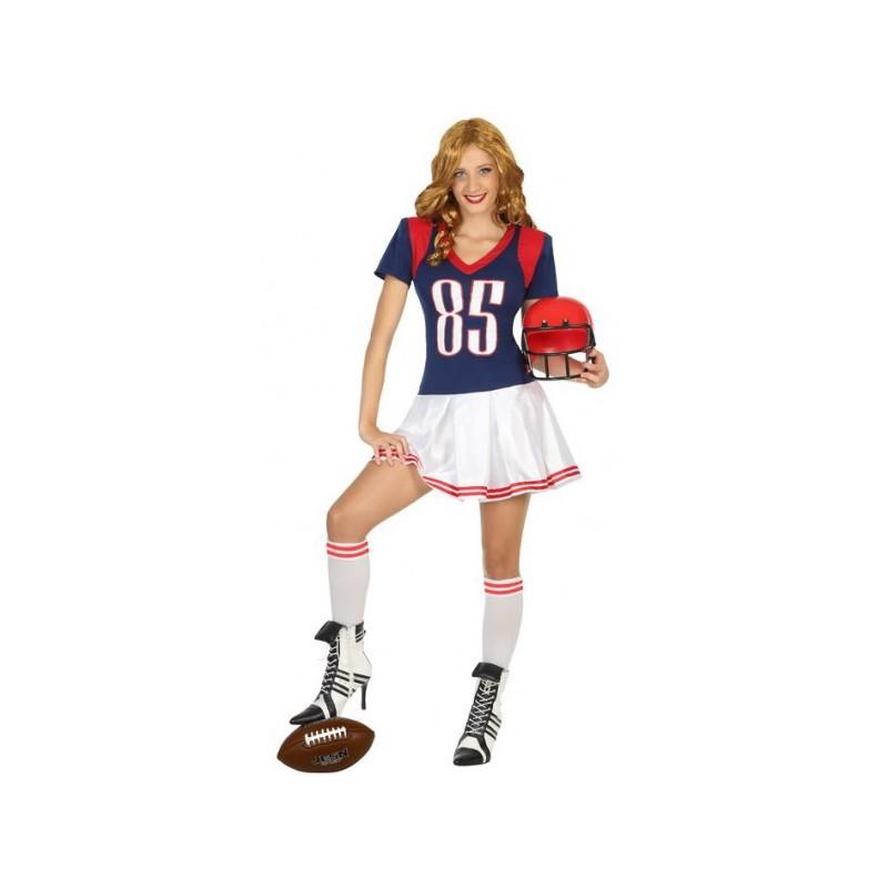 Disfraz de Jugadora de Fútbol Americano para Mujer  cb0ff20969a