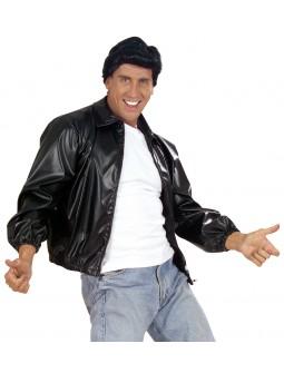 Chaqueta Grease de polipiel para hombre