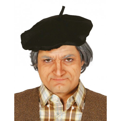Boina negra de Anciano