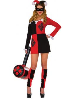 Disfraz de Harley Quinn Clásico para Mujer