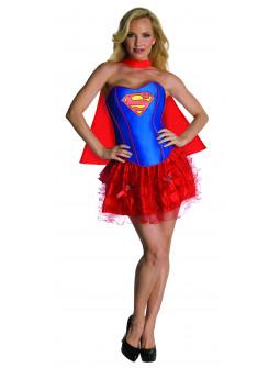 Disfraz de Supergirl con Corset