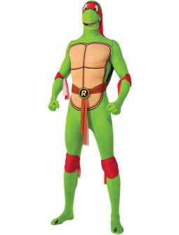 Disfraz de Raphael Tortuga Ninja Segunda Piel