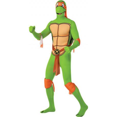 Disfraz de Michelangelo Tortuga Ninja Segunda Piel