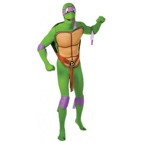 Disfraz de Donatello Tortuga Ninja Segunda Piel