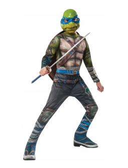 Disfraz de Tortuga Ninja Leonardo Niño