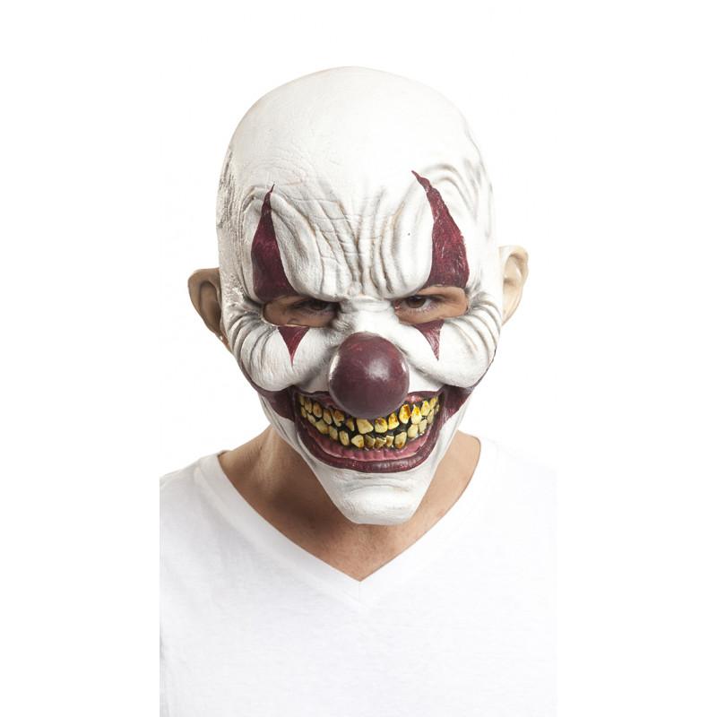 Máscara de Payaso Asesino Realista  dd64fd3cdde1